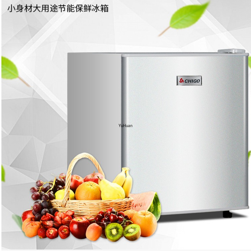 50L Single Door Fridge Mini Refrigerator  House Fresh Keeping Cabinet Mini Fridges  Refrigerators Refrigerators  Mini Fridge
