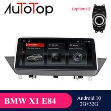"AUTOTOP 10.25 ""IPS מסך 2 דין אנדרואיד 10.0 מולטימדיה לרכב נגן וידאו עבור X1 E84, iDrive Carplay Mirrorlink GPS ניווט"