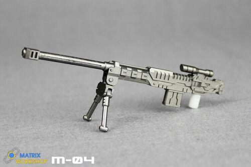 Matrix Workshop M-20 Weapon Upgrade Kit For Siege Deluxe Mirage Transformation