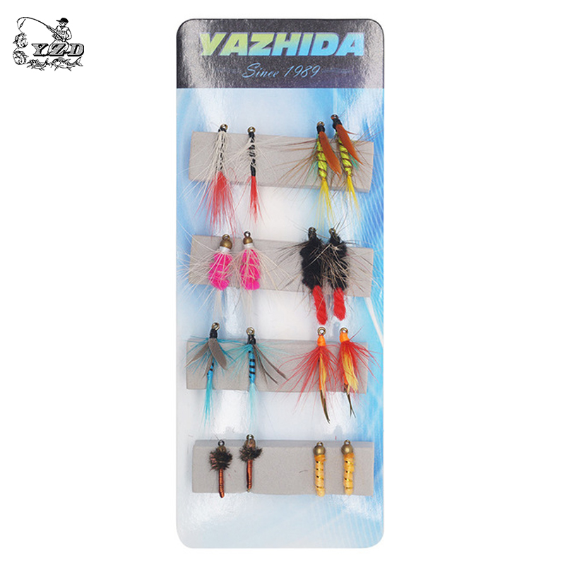 -Item In USA 15  Pack 15 Color Crystal Krystal Flash For Fly Tying Lure Making