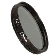 52mm circular polarising CPL filter for canon 650D 700D nikon D3100 D3200 D3300 цена