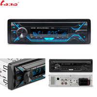 LaBo Auto Radio 1din Autoradio Aux Eingang Empfänger Bluetooth Stereo Radio MP3 Multimedia Player Unterstützung FM/MP3/WMA /USB/SD Karte