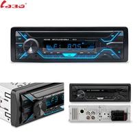 LaBo Auto Radio 1din Autoradio Aux del Ricevitore di Ingresso Bluetooth Stereo Radio MP3 Multimedia Player di Sostegno FM/MP3/WMA /Carta di USB/SD
