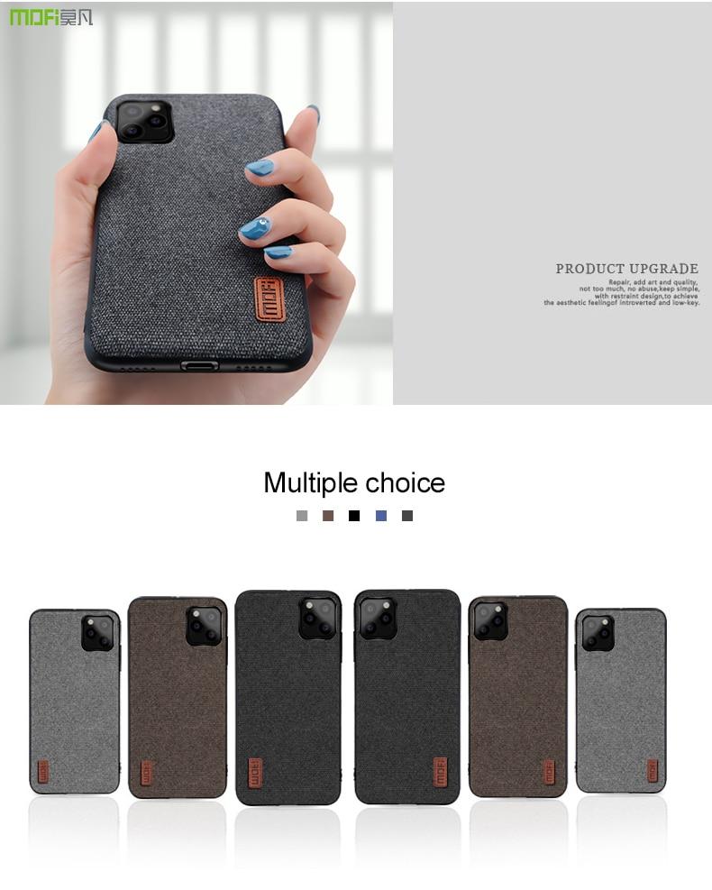 MOFi Fabric Case for iPhone 11/11 Pro/11 Pro Max 1