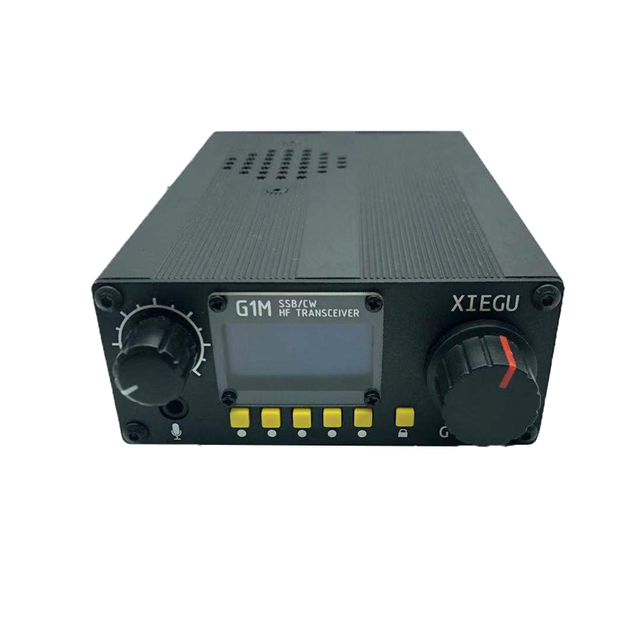 New XIEGU G1M SDR SSB/CW/AM 0.5 30MHz Moblie Radio HF Transceiver Ham Radio QRP