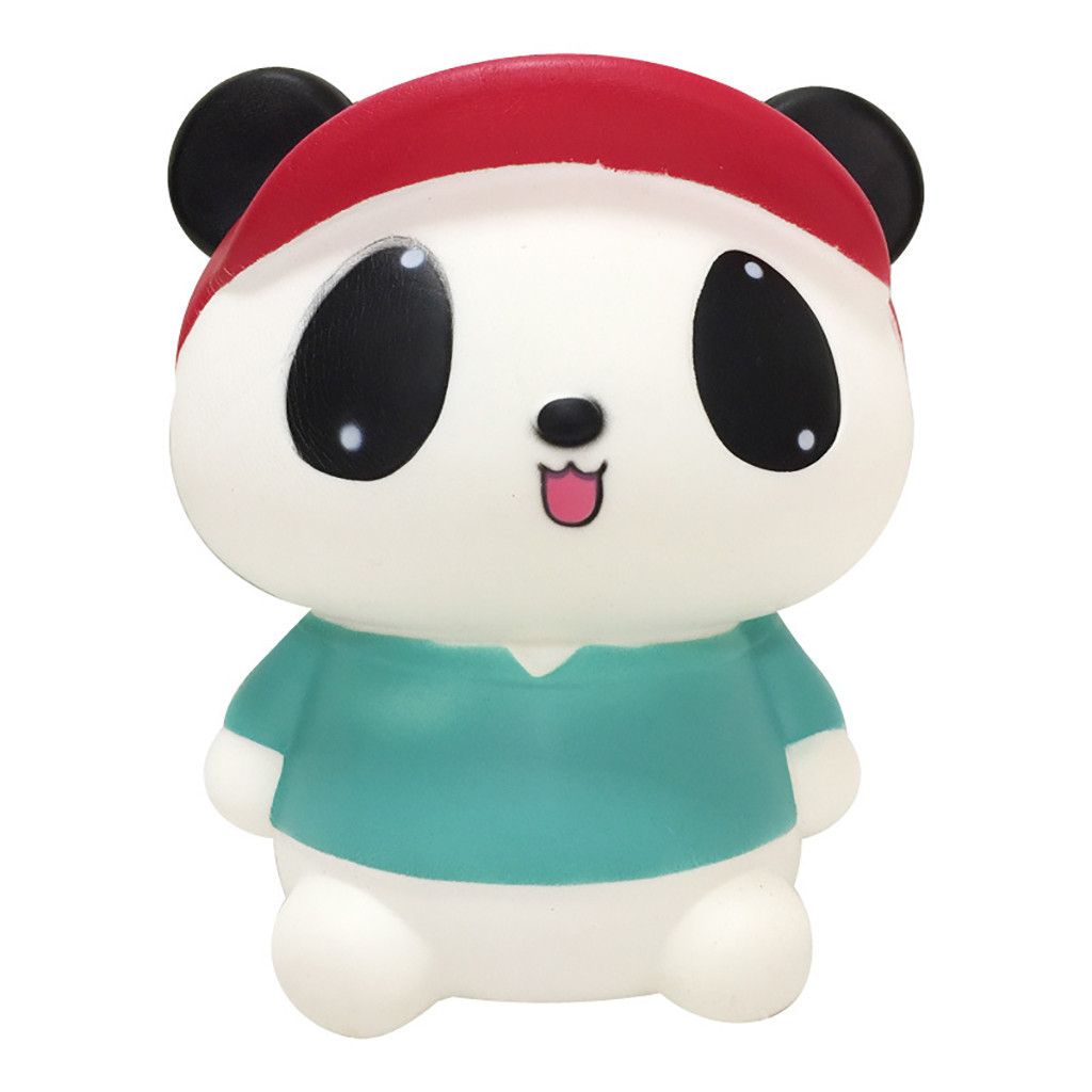 Jumbo Cartoon Panda Scented Slow Rising Children Kids Toy Stress Reliever Decor Animal Noverty Toys Squeeze Relief Autism Toy #C