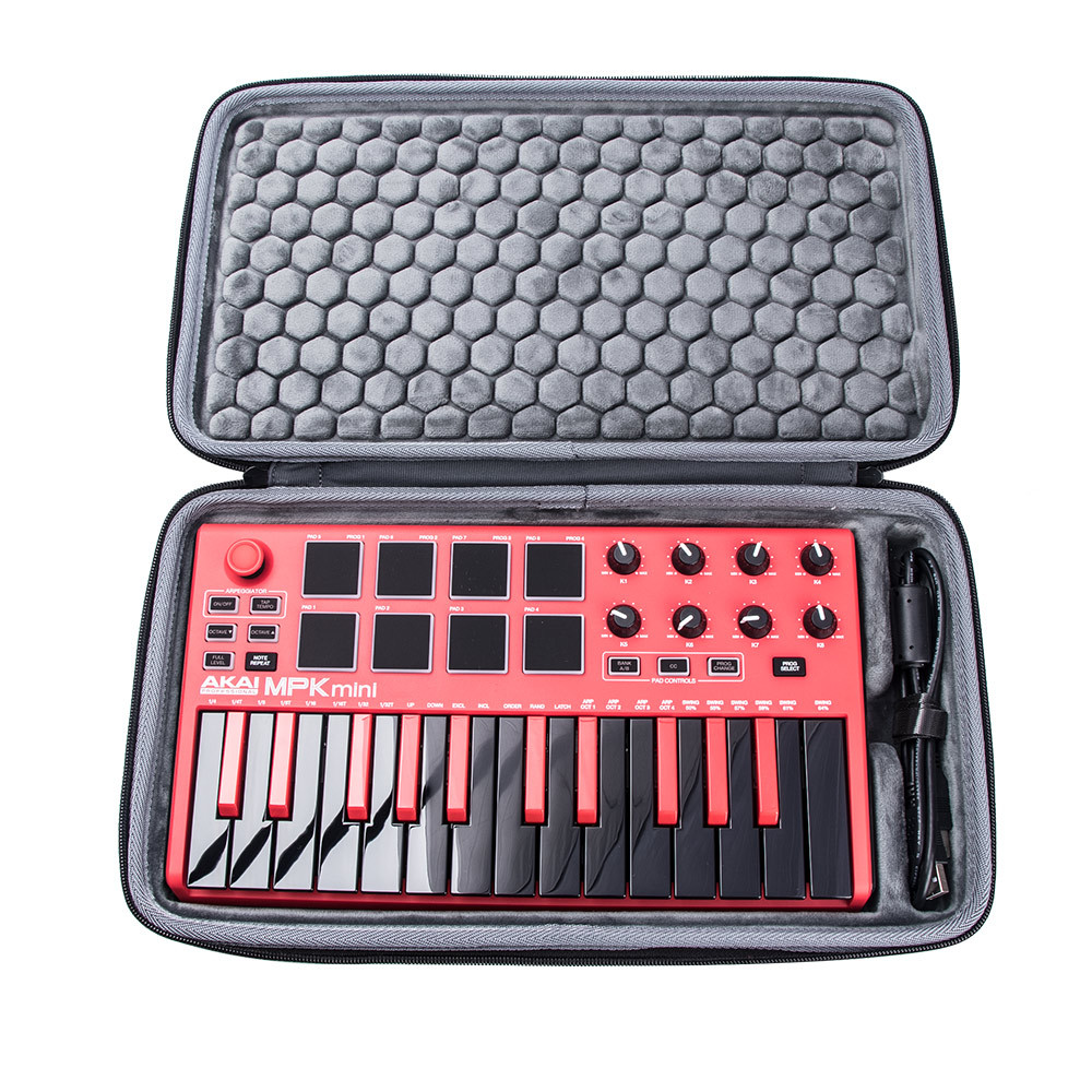 2020 Newest EVA Hard Carrying Protective Travel Pouch Portable Box Cover Case For AKAI MPK Mini PLAY MK2 Keyboard Controller