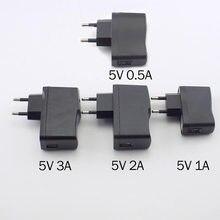 5v 0.5a 1a 2a 3a micro usb carregador ac para dc de carregamento universal usb adaptador de alimentação fonte 100v-240v saída telefone power bank e14