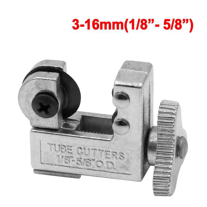 Mini Tube Cutter For 1/8'' - 5/8'' Outside Diameter Hard Tubing Acrylic & PETG & Copper Tubing Refrigeration Tool