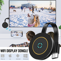G10 WiFi Display Dongle for TV HDMI DDR1Gbit AM8272X ezcast Miracast Any Cast DLAN for Android iOS Iphone Home Movie Accessory