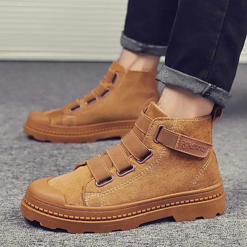 Bottines pour bottes militaires chaussures d'hiver hommes bottes en peluche chaud hommes chaussures adultes hommes baskets chaussures d'hiver bottes hommes 39 S