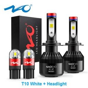 Image 1 - ナオH7 led H4 H11 HB4 9006 9005 HB3 H1 H8車ヘッドライト電球cob smd 6000 18kホワイト30ワット12v H3 H13 9007 9004自動車の付属品
