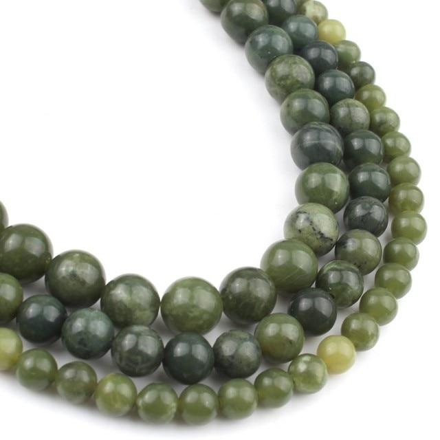 Bracelet Jade Vert Pierres Naturelles 3