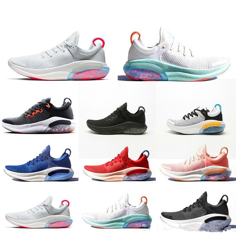 2020 Joyride Run FK Mens Womens Running Shoes Triple Black White Platinum Racer Blue Designers Sports Sneakers Utility Size 36-4