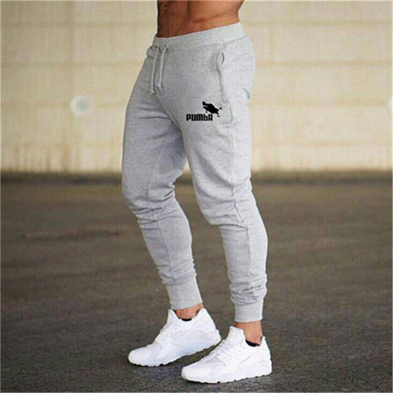 2020 Fashion Men Gyms Pants Joggers Fitness Casual Long Pants Men Workout Skinny Sweatpants Jogger Tracksuit Cotton Trousers