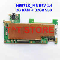 original 32G SSD for ASUS FOR Google Nexus 7 ME571K K008 tablet motherboard mainboard ME571K_MB REV 1.4 2G RAM free shipping