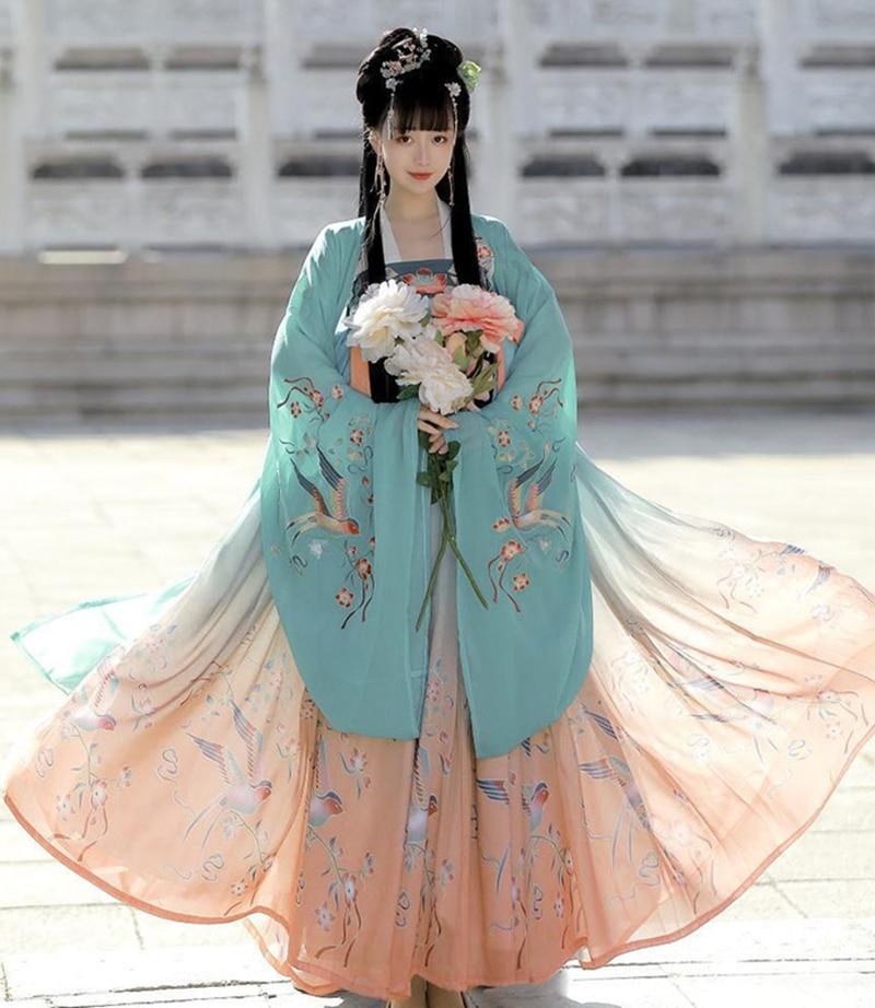 Hanfu Dress Chinese Cosplay Hanfu Women Chinese Dress Tang Suit Costume Ancient Fairy Princess Costume Traditional Hanfu Dress