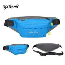 YoReAi Sports Bag Running Waist Jogging Portable Waterproof Cycling Outdoor Phone Anti-theft Belt Earphone Bum bag
