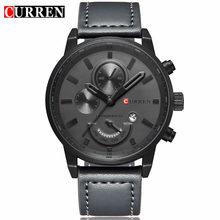 US $13.77 47% OFF|Curren Relogio Masculino Quartz Watch Men Top Brand Luxury Leather Mens Watches Fashion Casual Sport Clock Men Wristwatches 8217 on AliExpress