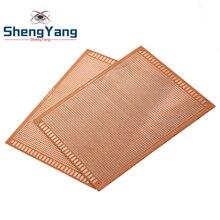 1pcs 15x18 cm 15*18cm Single Side Prototype 2.54mm PCB Breadboard Universal Experimental Bakelite Copper Plate Circuirt Board