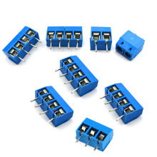 10PCS KF301-2P KF301-5.0-2P KF301 Screw 2Pin 5.0mm Straight Pin PCB Screw Terminal Block Connector KF301-3P стоимость