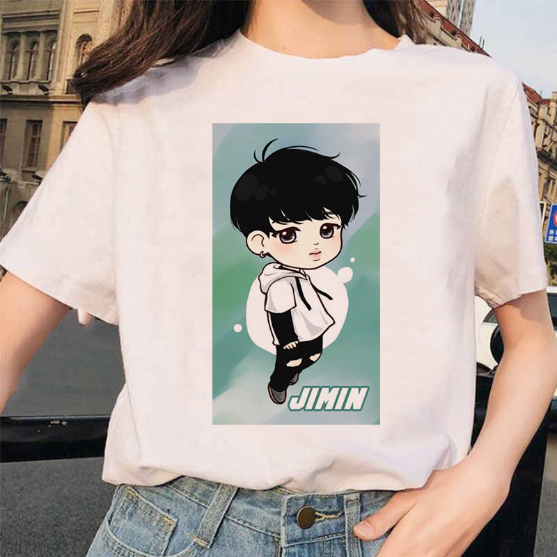 Korean T Shirt women Cute handsome boys Tees tops harajuku ulzzang t shirt  Funny Graphic Female T shirt K pop T-Shirts  - AliExpress