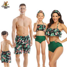 senior childbirth labor and mother and son first aid model bix f55 wbw255 Family Look Matching Swimsuit Mommy And Me Clothes Mum Father And Son Beach Shorts Mother And Daughter Bikini Men Boy Swimwear