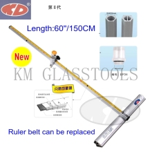 Glass-Cutter Cutting 6--12-Mm. Oil-Filled KD T-Shaped Super-Quality 60-/150cm-Speed
