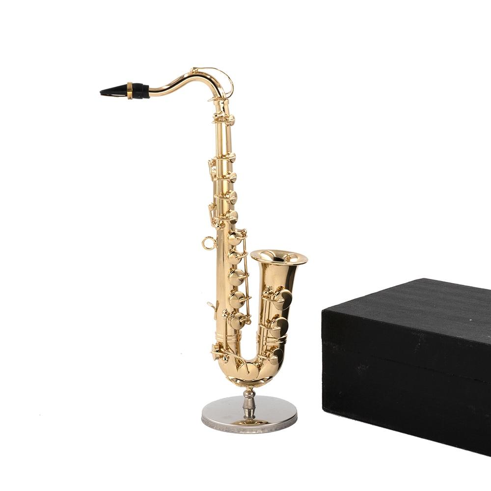 Miniatur Tenor Saxophon Mini Musikinstrument
