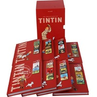 8 books/set Tintin Collection The Adventures of Tintin English Picture story books to help your child grow as a reader