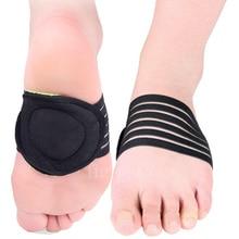 1 Pair Foot Pads Insoles Bumps on Flat Foot Mats for Leg Car