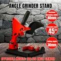 Winkel Grinder Stand Halterung Halter Cutter Gusseisen Basis Power Werkzeug Zubehör Unterstützung Für 100-125 Cutter Winkel Grinder