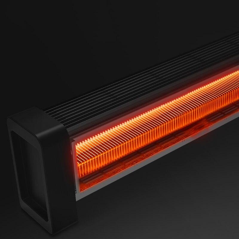2200W плинтус электрические нагреватели с HD светодиодный цифровой Дисплей и приложение пульт дистанционного управления инфракрасный пульт д...