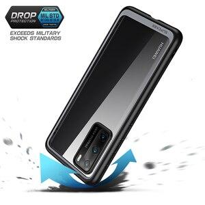 Image 4 - Pour étui Huawei P40 (sortie 2020) SUPCASE Style UB mince Anti coup de protection hybride Premium pare chocs + PC étui transparent