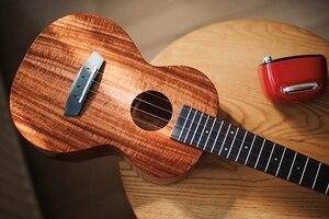 Image 4 - Enya ukulele k1 sólido koa ukelele 23 polegada 26 pequena guitarra concerto tenor com saco 4 cordas guitarra instrumentos musicais
