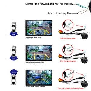 Image 4 - Smartour 180 Degree Car Rear Front View Camera Universal Backup Parking Camera Night Vision Waterproof Ccd Color Image