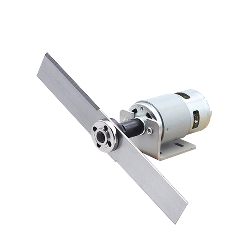 DC 12-24V 775 Motor With Lawn Mower Set Manganese Steel Blade & Mounting Bracket High Speed 775 DC Motor For DIY Garden Tool