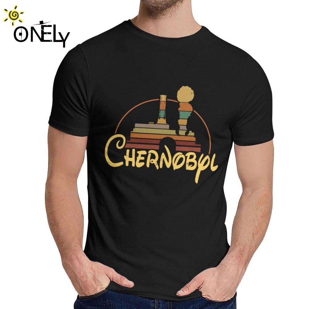 For Men T Shirt Chernobyl 3.6 Roentgen Not Great Not Terrible Nuclear Soft New Classic Round Neck Harajuku Streetwear Tee Shirt