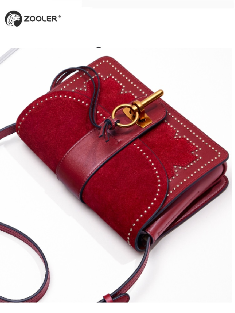 ZOOLER Brand High Quality Genuine Leather cross body bags for women Shoulder Bag Luxury Designer bags