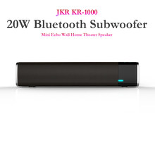 JKR KR-1000 Draadloze Speaker, 20W Bluetooth Subwoofer Mini Echo Muur Home Theater Bass Stereo Surround Sound Luidspreker(China)