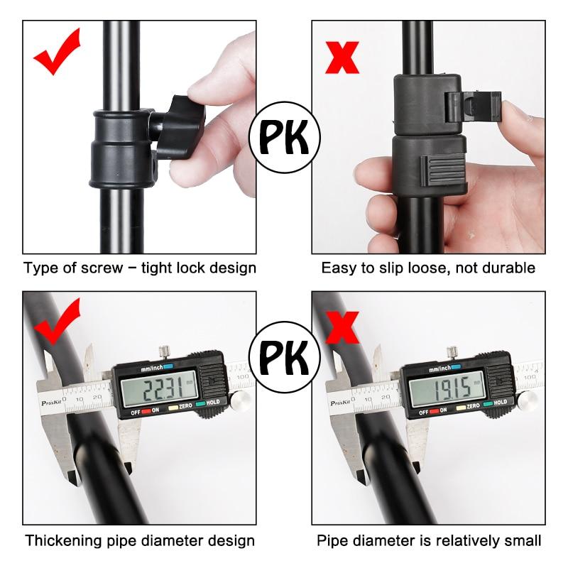 Color : Black, Size : 200X100cm Backdrop Support Stand T-Shaped Background Frame Adjustable Photo Shooting Background Support Kit Portable Design Background Support