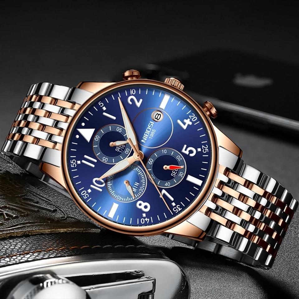 NIBOSI Creative Wrist Watch