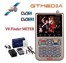 GTmedia V8 Finder DVB S2 לווין מטר לווין Finder טוב יותר מ freesat v8 finder סאטלינק WS 6906 6916 6950 ws 6933 ws6933