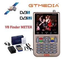 GTmedia V8 Finder DVB-S2 miernik satelitarny wizjer satelitarny lepiej niż freesat v8 finder SATLINK WS-6906 6916 6950 ws-6933 ws6933(China)