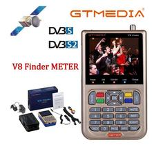 Gtmedia V8 ファインダーDVB S2 衛星メートル衛星ファインダーよりもfreesat v8 ファインダーsatlink WS 6906 6916 6950 ws 6933 ws6933