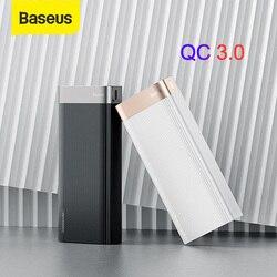 Baseus 20000mAh szybkie ładowanie banku mocy typu C PD QC3.0 szybkie ładowanie dla iPhone Samsung Xiaomi 9 typ C ładowarka USB Power Bank