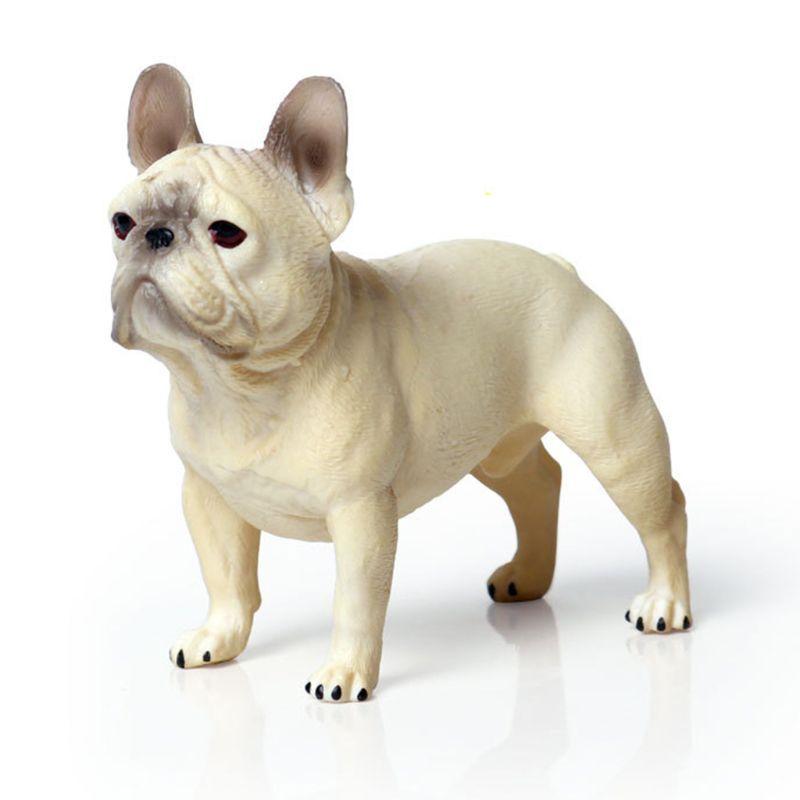 Plastic Bulldog Animal Model Figurine Action Figure 3 Inch P31B