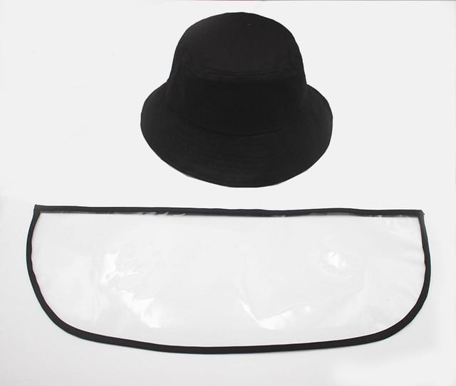 Anti Virus Mask Protective Anti-saliva Dust-proof Sun Hat Safety Full Face Shield Mask Protection Tool Fisherman Fishing Cap 5