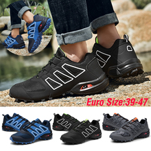 Sneakers Trainers Trekking-Shoes Hunting Climbing Tactical Breathable Male Summer Mesh