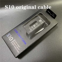10pcs Original quality for s10 s10+ s10 E type c cable fast charger USB Data line Travel